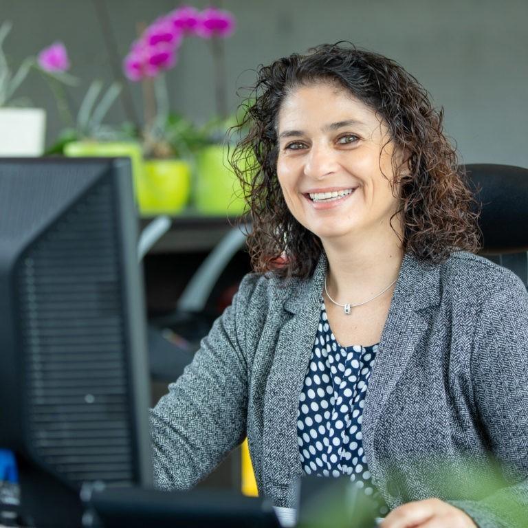 Team Blaas Elisabeth Fischnaller Sekretaerin Bozen Suedtirol