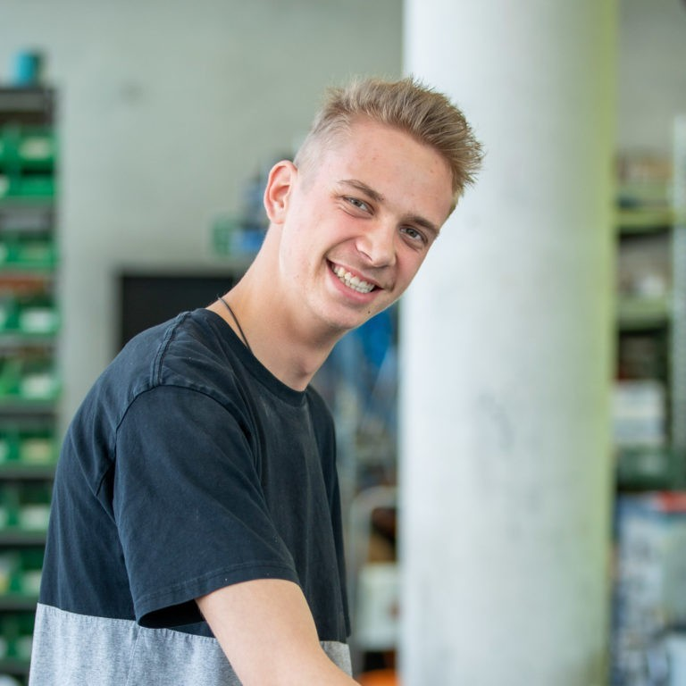 Team Blaas Jakob Priller Lehrling Innendienst