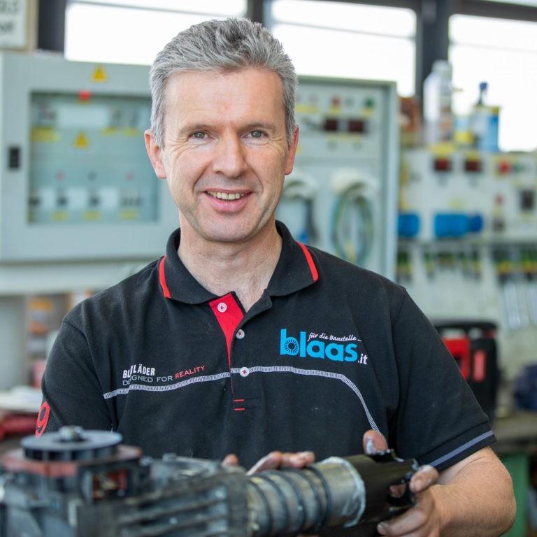 Team Blaas Martin Riegler Techniker innendienst