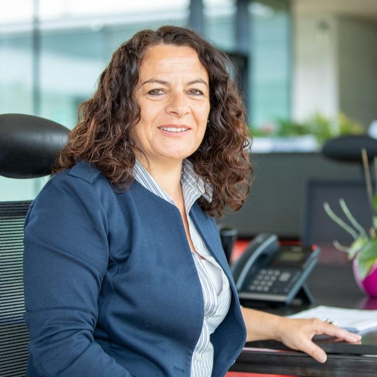 Team Blaas Verena Blaas Sekretaerin Bozen Suedtirol